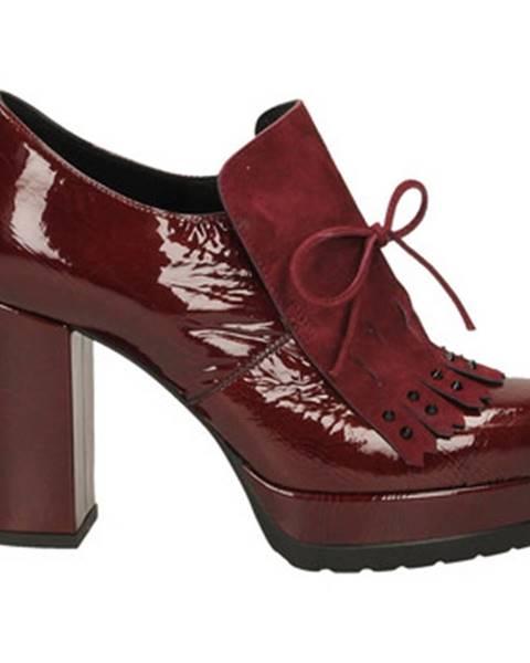 Červené topánky Guido Sgariglia