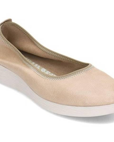 Béžové topánky Softinos