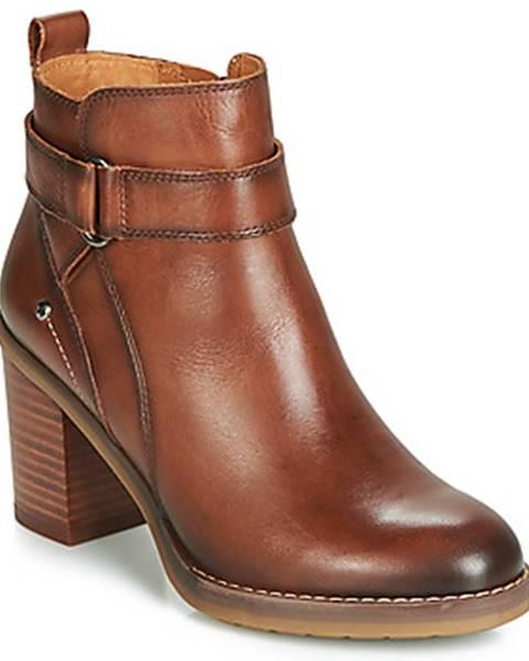 Hnedé topánky Pikolinos