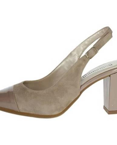 Béžové topánky Romagnoli