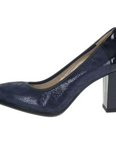 Modré topánky Romagnoli