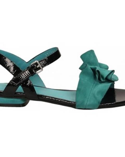 Viacfarebné topánky Elvio Zanon