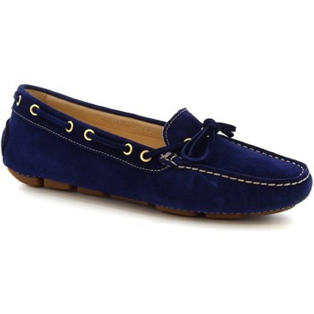Leonardo Shoes Balerínky/Babies Leonardo Shoes  7502 SOFTY BLUETTE