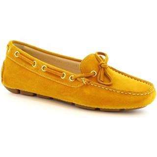Balerínky/Babies Leonardo Shoes  7502 SOFTY TOPAZIO (TUCANO 303)