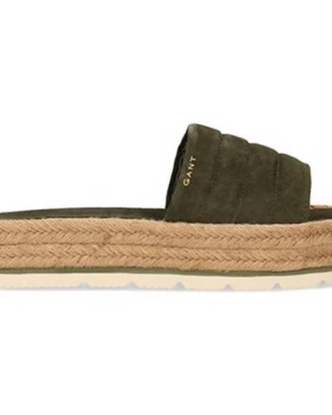 Zelené topánky GANT