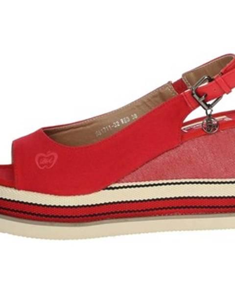 Červené topánky Baci   Abbracci