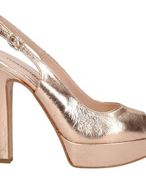 Béžové topánky Lorenzo Mari