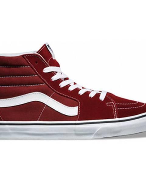 Bordové topánky Vans