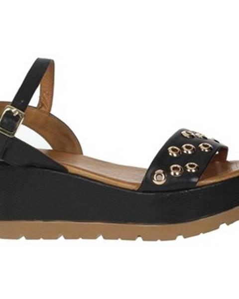 Čierne topánky Donna Style