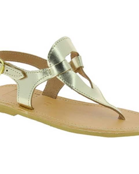 Zlaté topánky Attica Sandals