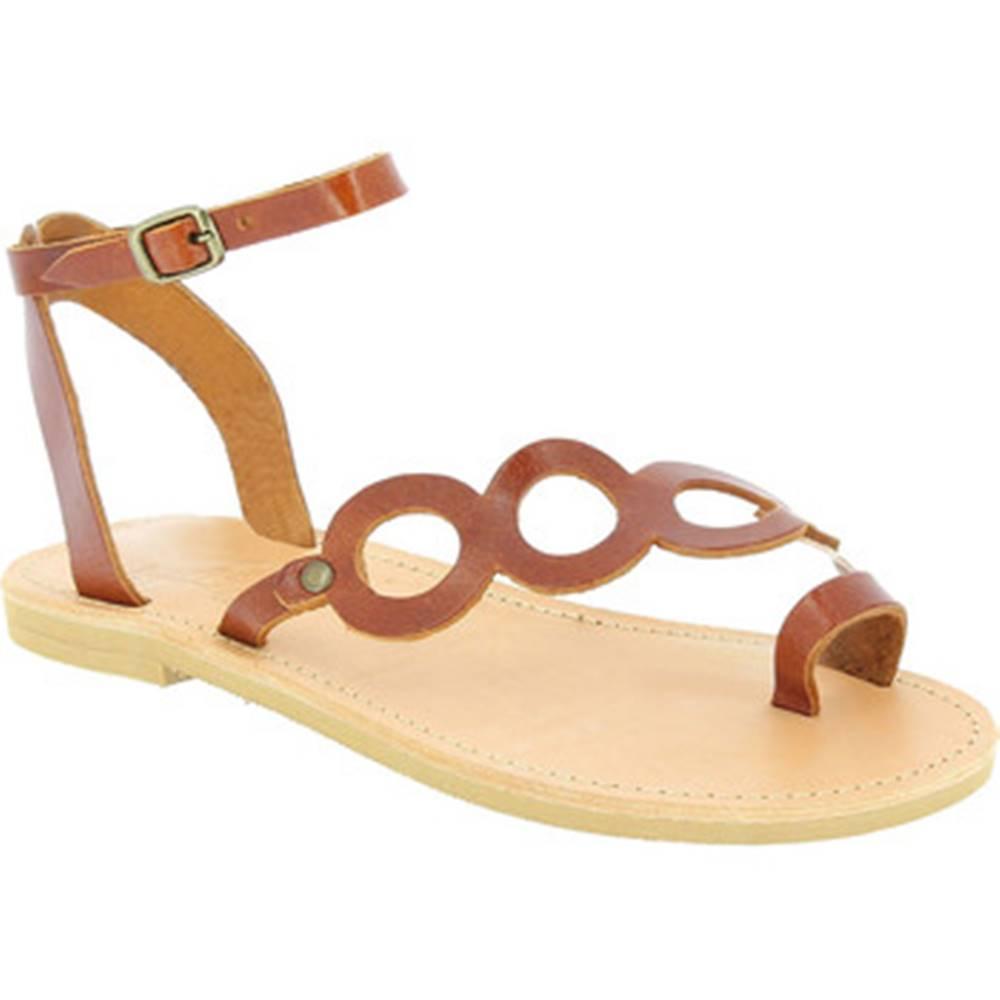 Attica Sandals Sandále Attica Sandals  APHRODITE CALF DK-BROWN