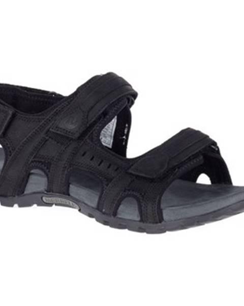 Čierne sandále Merrell