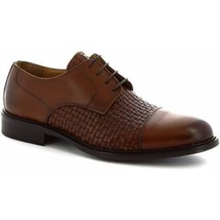 Derbie Leonardo Shoes  912BIS CUOIO