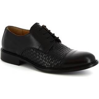 Derbie Leonardo Shoes  912BIS NERO