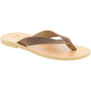 Sandále Attica Sandals  HERMES NUBUCK DK-BROWN