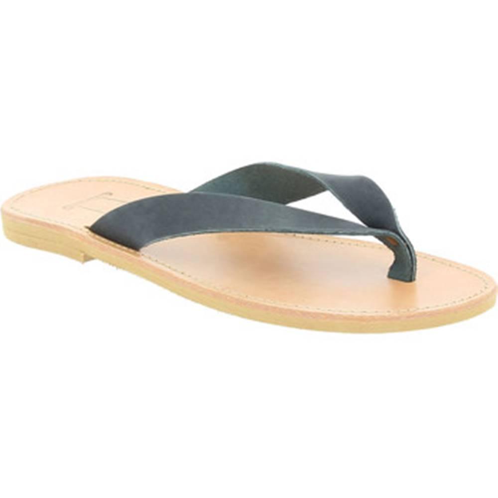 Attica Sandals Sandále Attica Sandals  HERMES NUBUCK BLACK