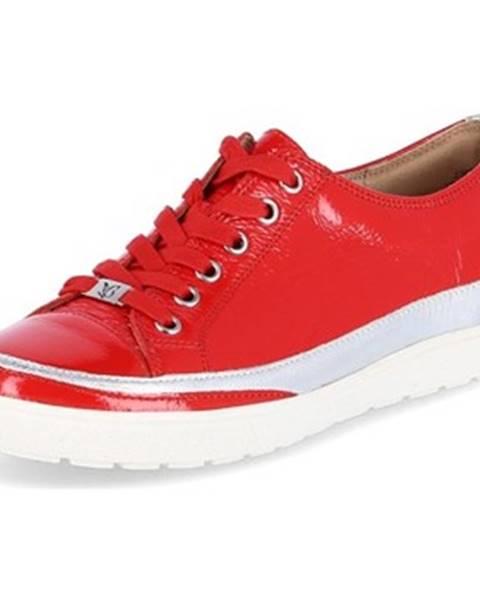 Červené tenisky Caprice