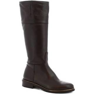 Čižmy do mesta Leonardo Shoes  J301 VITELLO T. MORO