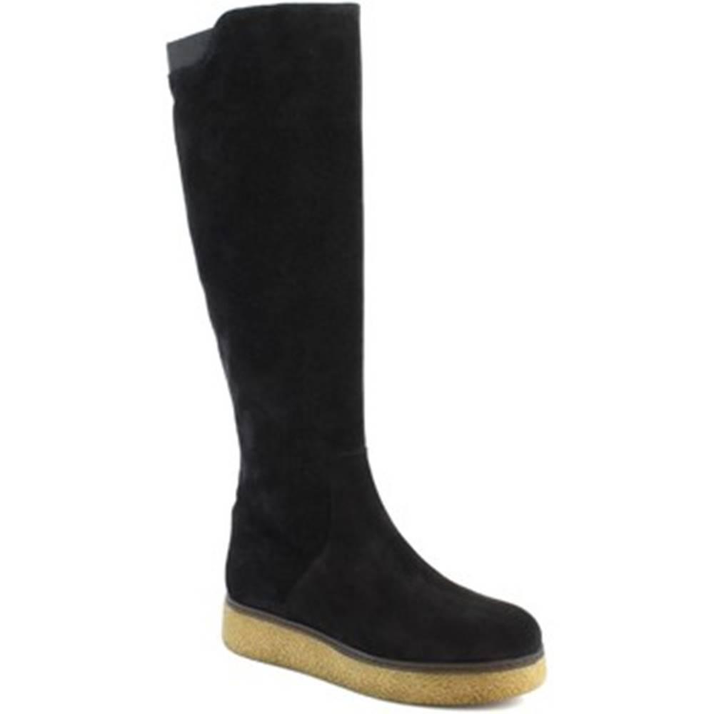 Leonardo Shoes Čižmy do mesta Leonardo Shoes  3006/1 VEL V. NERO