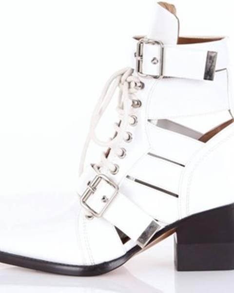 Biele topánky Chloe