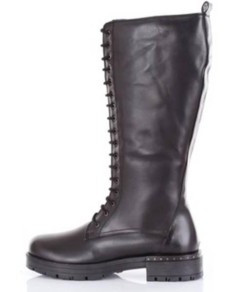 Čierne topánky Crêpida