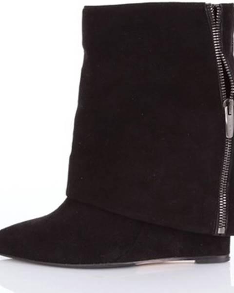 Čierne topánky The Seller
