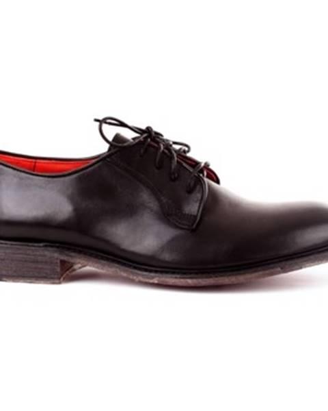 Čierne topánky Officine Del Golfo