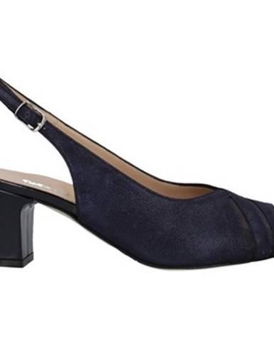 Modré topánky Melluso