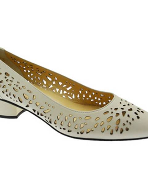 Béžové topánky Donna Soft