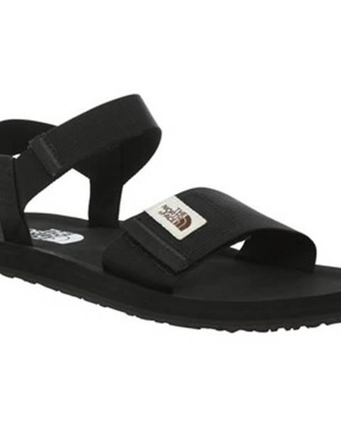 Čierne sandále The North Face
