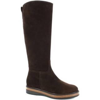 Čižmy do mesta Leonardo Shoes  3861/5 VELVET EBANO