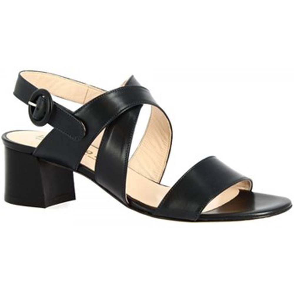 Leonardo Shoes Sandále Leonardo Shoes  3371 VITELLO BLU