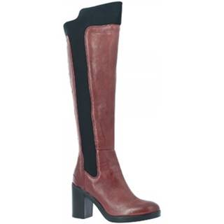 Čižmy do mesta Leonardo Shoes  9305/1 STIVALE RIOS BAROLO