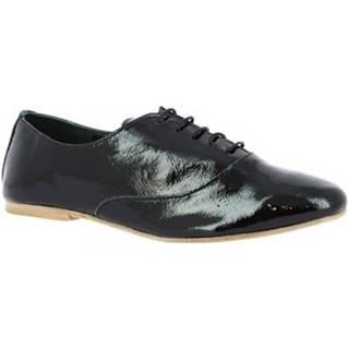 Derbie Leonardo Shoes  936-80 NAPLAK NERO