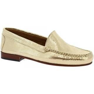Mokasíny Leonardo Shoes  318A ORO
