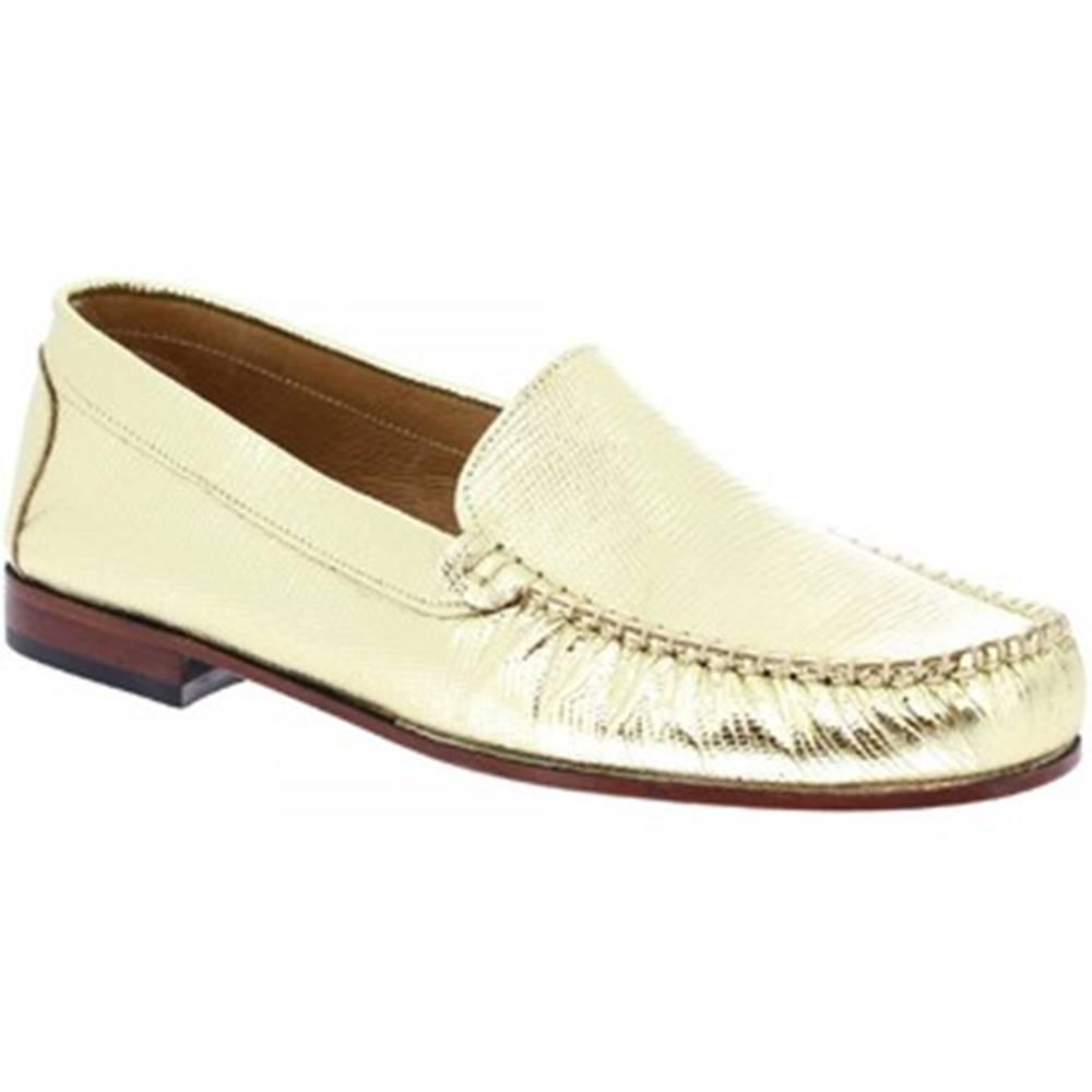 Leonardo Shoes Mokasíny Leonardo Shoes  318L ORO