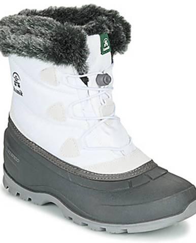 Biele topánky KAMIK