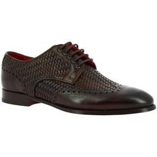 Derbie Leonardo Shoes  9457E20 VITELLO AV T.MORO