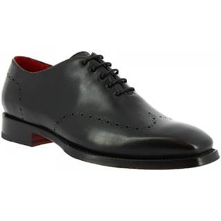 Derbie Leonardo Shoes  9576E20 TOM MONTECARLO NERO