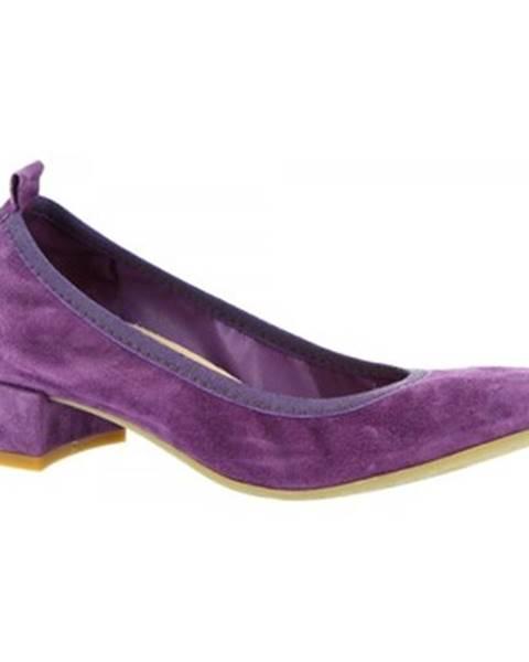 Fialové topánky Leonardo Shoes