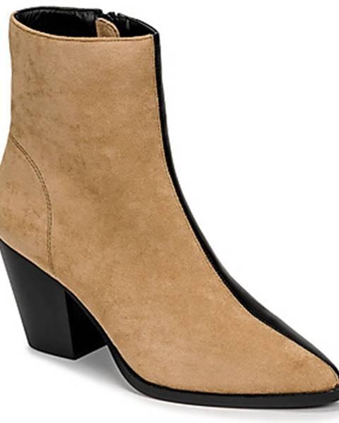 Béžové topánky Vanessa Wu