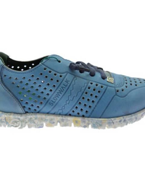 Modré tenisky Slowwalk