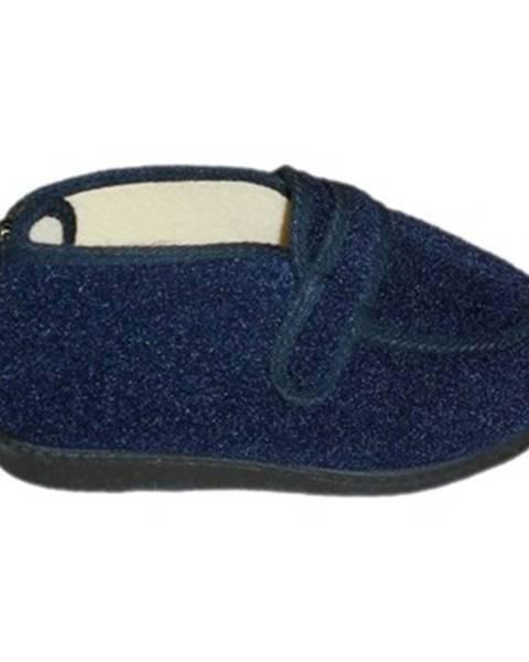 Modré papuče Davema