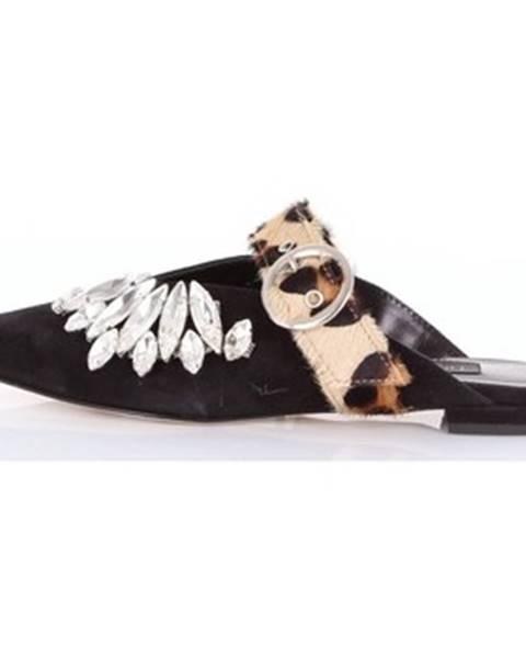 Čierne topánky Nora Barth