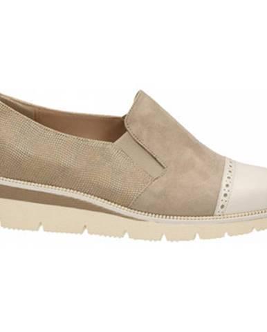 Béžové topánky Duca Di Rialto