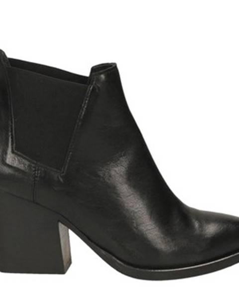 Čierne topánky Fiori Francesi