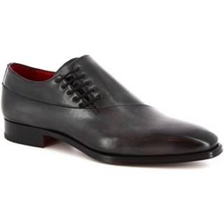 Richelieu Leonardo Shoes  9043/19 TOM VITELLO DELAVE GRIGIO
