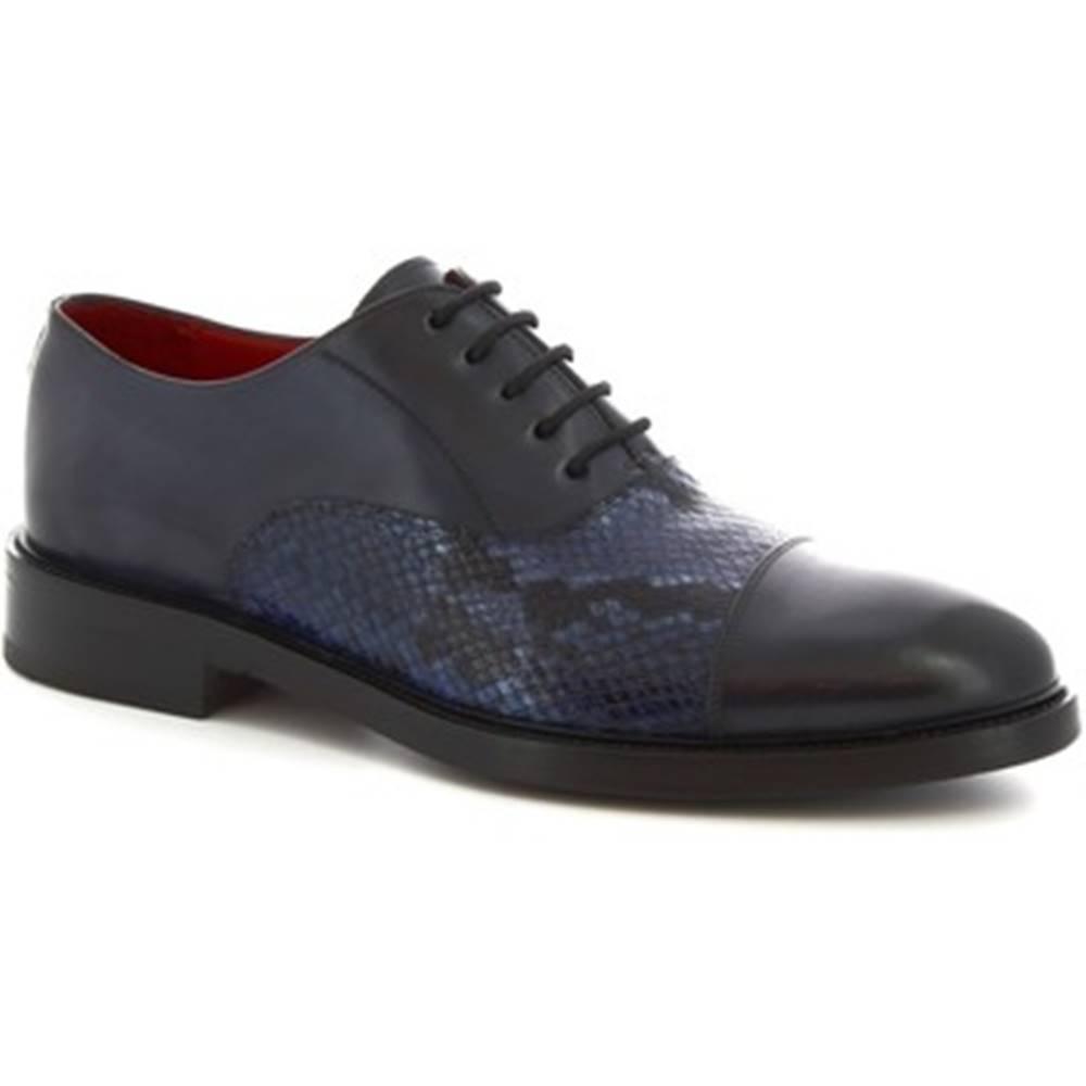 Leonardo Shoes Richelieu Leonardo Shoes  9127/19 TOM VITELLO DELAVE BLU