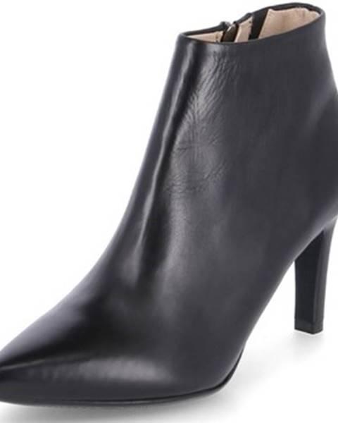 Čierne topánky Peter Kaiser