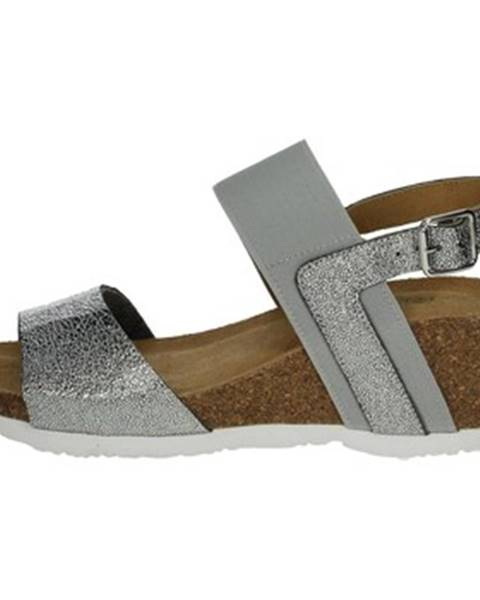 Strieborné topánky Riposella